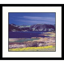 <strong>Great American Picture</strong> California Mountains Framed Photograph