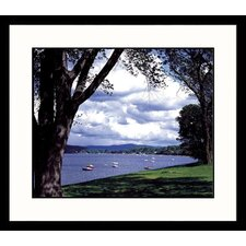 Lake Champlain Summer Framed Photograph