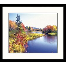 <strong>Great American Picture</strong> Glacier Pond Framed Photograph