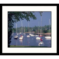Southport Harbor Framed Photograph