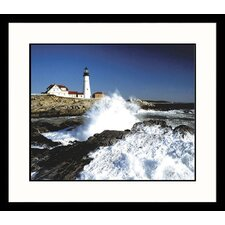 <strong>Great American Picture</strong> Portland Light Framed Photograph