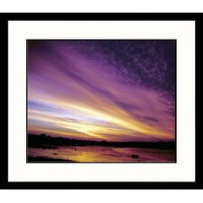 <strong>Great American Picture</strong> Scituate Sunset Framed Photograph