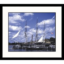 <strong>Great American Picture</strong> Mystic Tall Ship Framed Photograph
