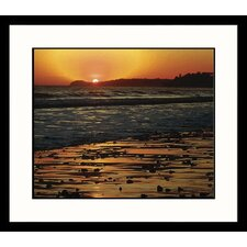 <strong>Great American Picture</strong> California Sunset Framed Photograph