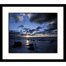 <strong>Great American Picture</strong> Sunset Cat's Head Point Framed Photograph - Adam Jones
