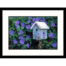 <strong>Great American Picture</strong> Morning Glories Framed Photograph