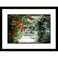 Florals Plant Archway Framed Photographic Print