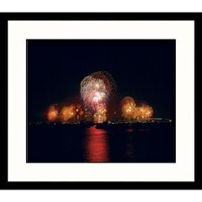 Cityscapes Liberty Celebration Framed Photographic Print