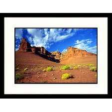 <strong>Great American Picture</strong> Lee´s Ferry, Redrock Formations Framed Photograph - James Denk