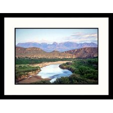 <strong>Great American Picture</strong> Rio Grande River, Big Bend NP, Texas Framed Photograph - Jack Jr Hoehn