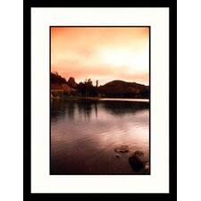 <strong>Great American Picture</strong> Horse Thief Lake, South Dakota Framed Photograph - Allen Russell