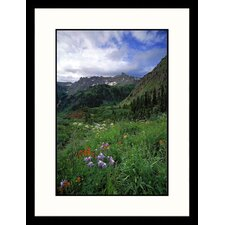 Mountain Peak San Juan Mountains Framed Photograph - Don Grall