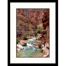 <strong>Great American Picture</strong> Side River, Grand Canyon, Arizona Framed Photograph - Rebecca Marvil