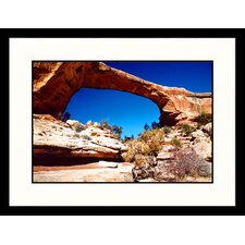 <strong>Great American Picture</strong> Natural Bridges National Monument, Utah Framed Photograph - James Denk