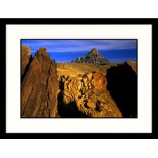 Landscapes 'Factory Butte Utah' by Russell Burden Framed Photographic Print