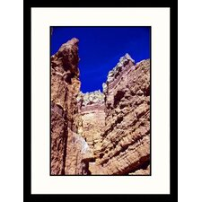 Landscapes Canyon View Framed Photographic Print