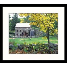 <strong>Great American Picture</strong> Concord Gristmill Framed Photograph