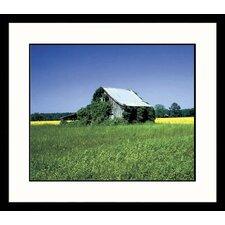 Landscapes Summer Barn Framed Photographic Print