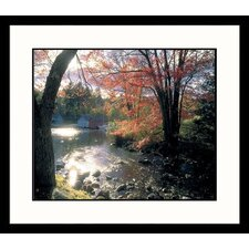 Landscapes Lake Sunapee Framed Photographic Print
