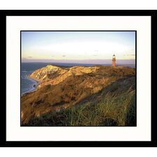 Landscapes Gayhead, Massachusetts Lighthouse Framed Photographic Print