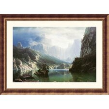 <strong>Great American Picture</strong> Sierra, Nevada Bronze Framed Print - Albert Bierstadt