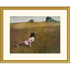 Christina's World Gold Framed Print - Andrew Wyeth
