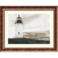 Easterly Bronze Framed Print - Andrew Wyeth