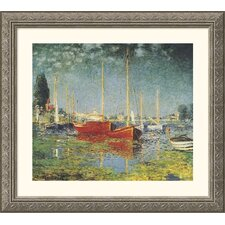 Museum Reproductions 'Argenteuil' by Claude Monet Framed Photographic Print