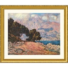 Museum Reproductions 'Cape Martin, Near Menton, 1844' by Claude Monet Framed Photographic Print