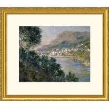 Museum Reproductions 'Monte Carlo, View of Cape Martin (Monte Carlo, Vue de Cap Martin)' by Claude Monet Framed Photographic Print