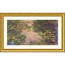 Museum Reproductions 'The Water Lily Pond, 1918 II' by Claude Monet Framed Painting Print