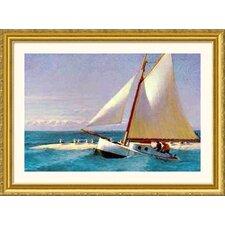 Museum Reproductions 'Martha Mckeen of Wellfleet' by Edward Hopper Framed Painting Print