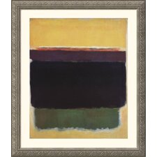 Museum Reproductions 'Untitled, 1949' by Mark Rothko Framed Painting Print