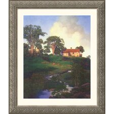Museum Reproductions 'Hunt Farm' by Maxfield Parrish Framed Photographic Print