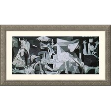 Museum Reproductions 'Guernica' by Pablo Picasso Framed Painting Print