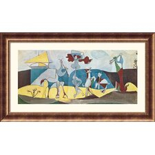 <strong>Great American Picture</strong> La joie de vivre (Joy in Life) Bronze Framed Print - Pablo Picasso