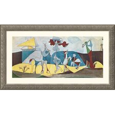 Museum Reproductions 'La joie de vivre (Joy in Life)' by Pablo Picasso Framed Painting Print
