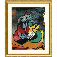 Museum Reproductions 'Lecture' by Pablo Picasso Framed Painting Print