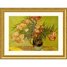 Museum Reproductions 'Vases de Fleurs (Vases of Flowers)' by Vincent Van Gogh Framed Painting Print