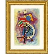 <strong>Great American Picture</strong> Homage to Grohmann Gold Framed Photograph - Wassily Kandinsky