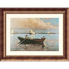 <strong>Great American Picture</strong> Gloucester Harbor Bronze Framed Print - Winslow Homer