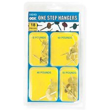 18 Piece Assorted One Step Hanger Kit