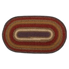 Cotton Log Cabin Step Rug