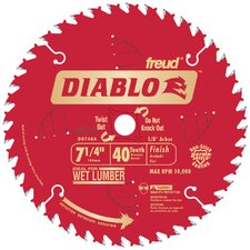 "<strong>Freud</strong> 7-1/4"" 40T Diablo™ Finish Work Circular Saw Blade"