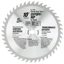"6-1/2"" 36T Krome King® Cutoff/Ripping Circular Saw Blade 25227"