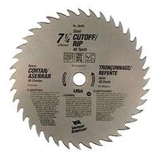 "7-1/4"" Cut Off Circular Saw Blade 26492"