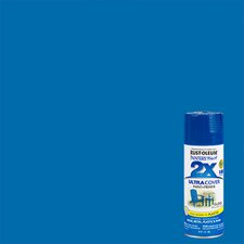 Painter's Touch® 2X™ 12 Oz Brilliant Blue Cover Spray Paint Gloss
