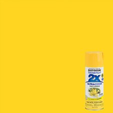 Painter's Touch® 2X™ 12 Oz Sun Yellow Cover Spray Paint Gloss