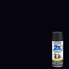 Painter's Touch® 2X™ 12 Oz Black Flat Cover Spray Paint