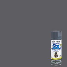 Painter's Touch® 2X™ 12 Oz Dark Gray Cover Spray Paint Gloss